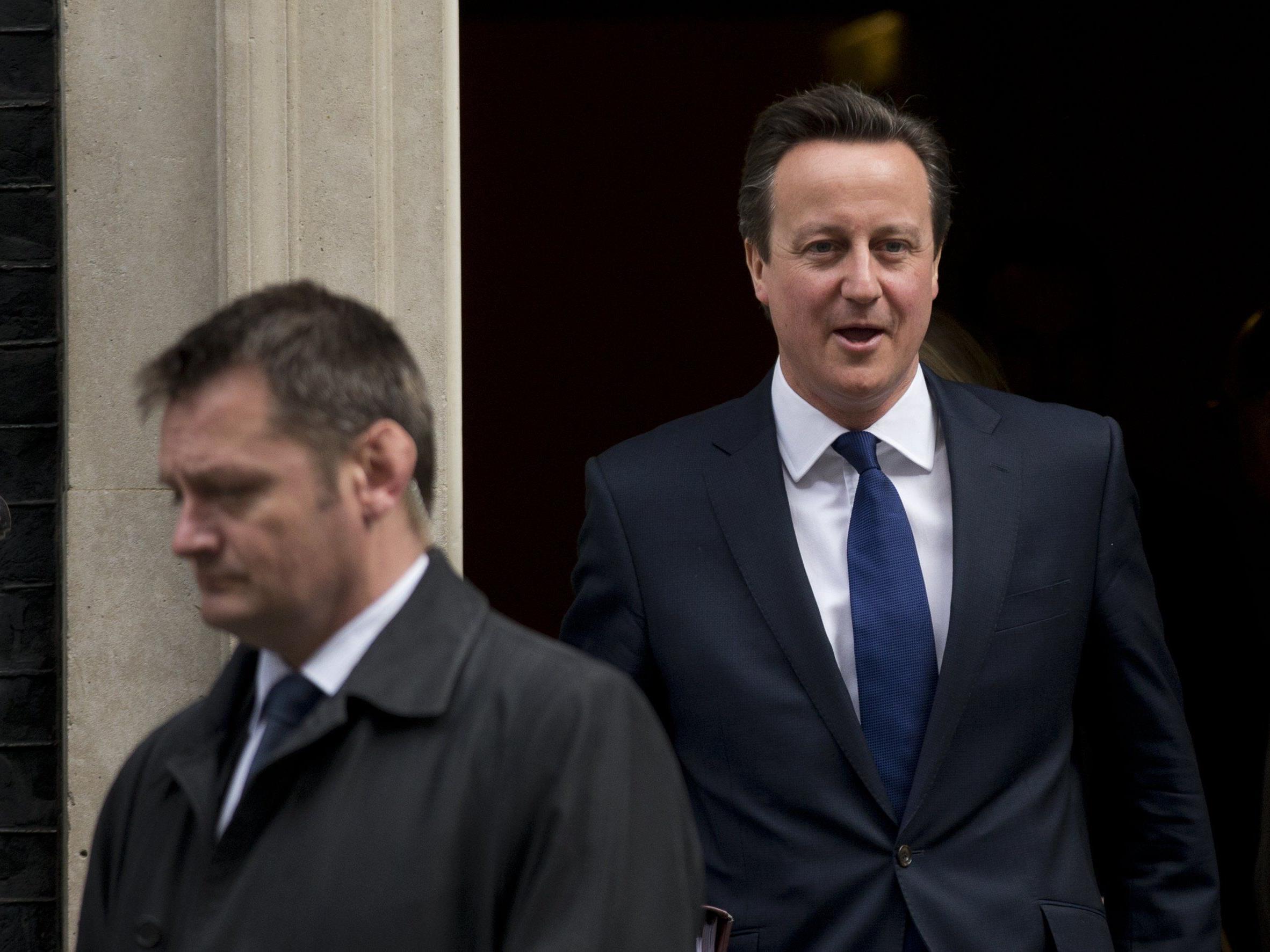 Cameron überrascht im Wahlkampf selbst die engsten Berater.