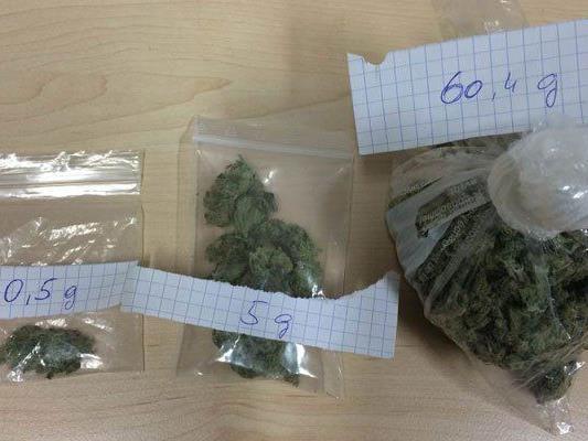 Bei dem 17-Jährigen wurde dieses Cannabis sichergestellt.