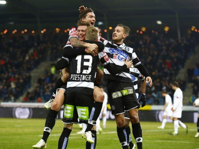 Erfolg für Sturm Graz am Dienstag.