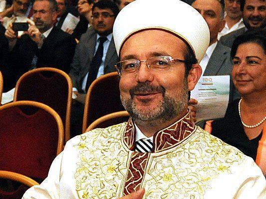 Der Chef des türkischen Religionsamtes, Mehmet Görmez , äußerte sich zum Islamgesetz