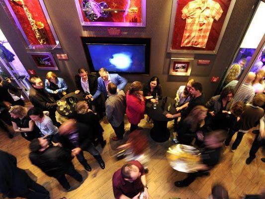 Im Hard Rock Cafe in Wien finden regelmäßig Konzerte statt.