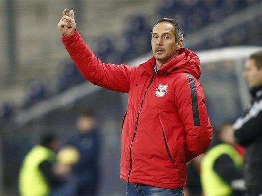 Hütter wies nach dem Altach-Match einmal mehr darauf hin, dass mit Kevin Kampl, Alan und Sadio Mane in dieser Spielzeit gleich drei Leistungsträger den Club verließen.