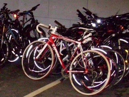 Noch nicht alle Fahrräder konnten ihren Besitzern zugeordnet werden.