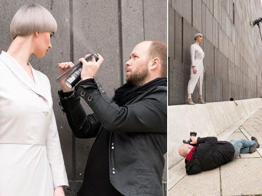 Professionelle Models stehen in Wien zur Verfügung.