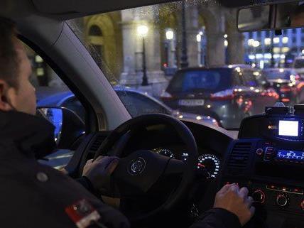 in Wien wurden weniger Straftaten aufgeklärt.