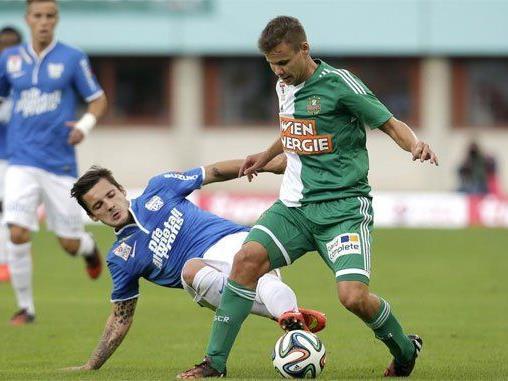 Duell am Samstag: Rapid Wien gegen SV Grödig.