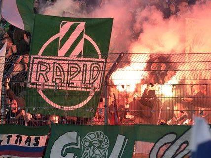 Rapid hat den Vorsprung von Salzburg verringern können.