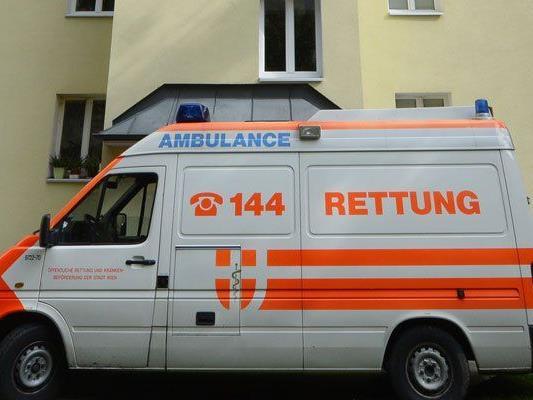 In Wien-Döbling wurde ein Mann schwer verletzt.