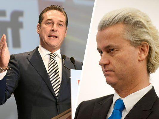 H.C. Strache verteidigt die Einladung von Geert Wilders