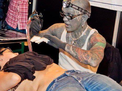 Die Wildstyle versammelt die Fans der Tattoo-Szene.