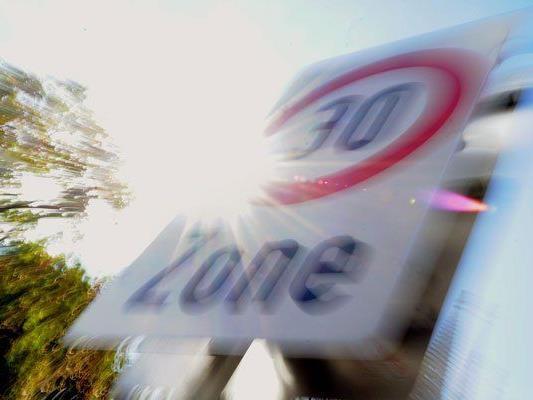 In der Hörlgasse im 9. Bezirk gibt es eine neue Tempo-Regelung.