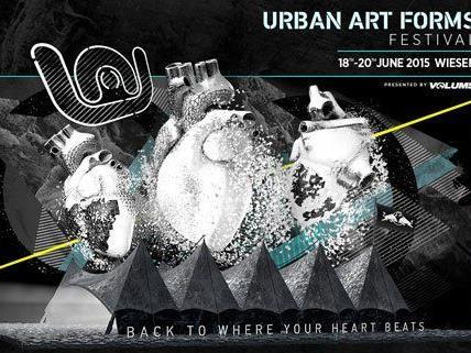 Das Urban Art Forms bittet auch heuer wieder drei Tage zum Tanzen und Feiern.