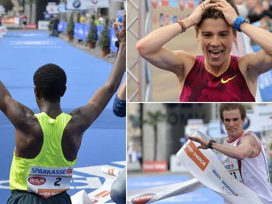 Die Ergebnisse beim 32. Wien-Marathon