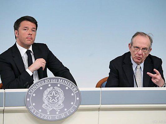Italiens Regierung will Defizit reduzieren