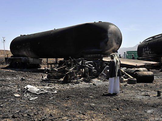 Ölfelder werden von Houthis kontrolliert