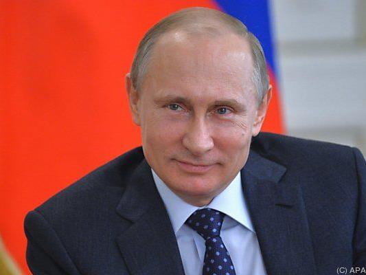 Putin zeigt sich von seiner gütigen Seite