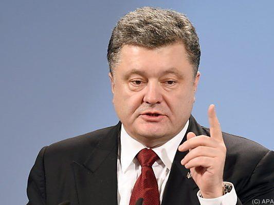 Poroschenko will Marine modernisieren