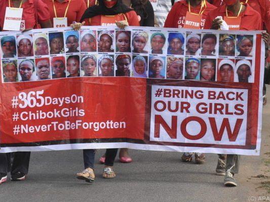Die entführten Mädchen sind noch nicht in Vergessenheit geraten