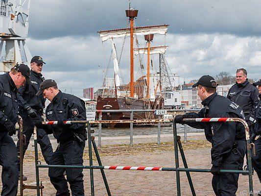 In der Hansestadt Lübeck treffen die G-7-Außenminister zusammen