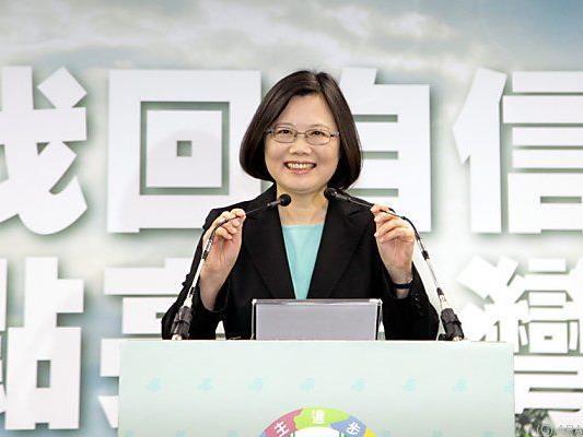 Tsai Ing-wen ist gegen Annäherung an China