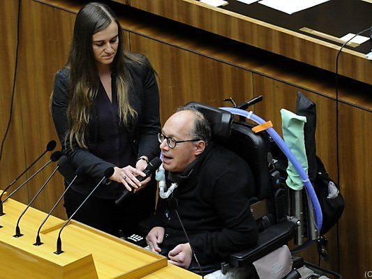 ÖVP-Behindertensprecher Franz-Joseph Huainigg