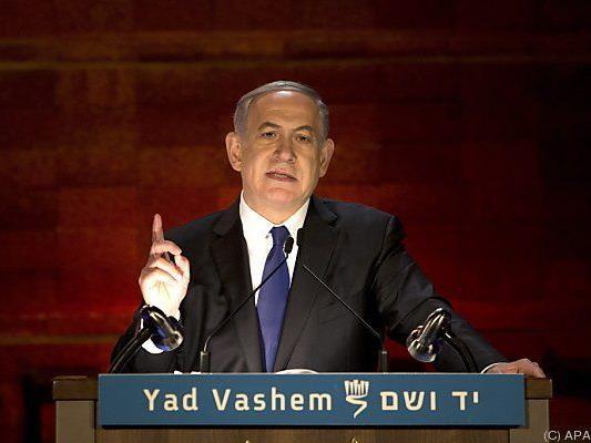 Israels Premier wetterte wieder gegen den Iran