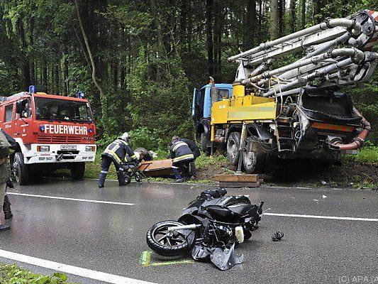 Ein Fünftel der Toten waren Motorradfahrer