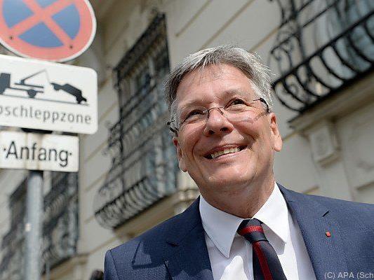 Peter Kaiser kam zu einer Verhandlungsrunde nach Wien