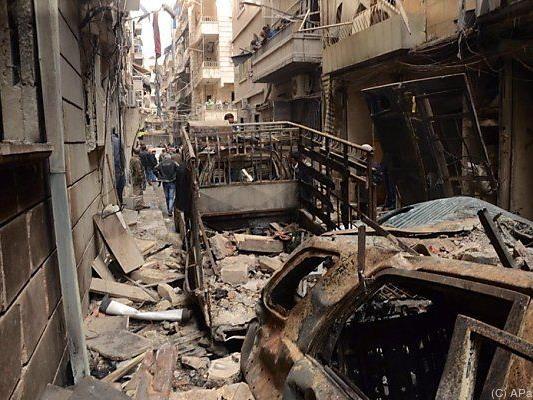 IS-Ziele in Syrien werden angegriffen