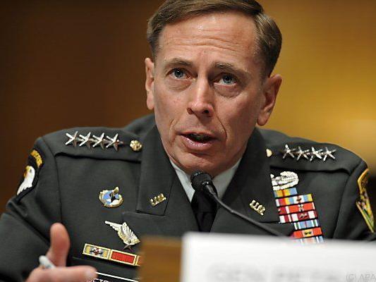 Unrühmlicher Abgang von David Petraeus