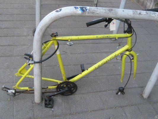 Fast 400 Fahhräder wurden gestohlen