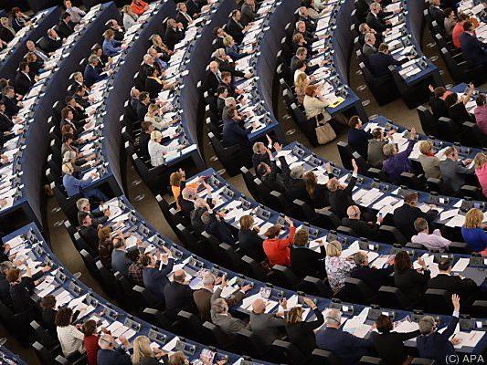 Sitzung des EU-Parlaments in Straßburg