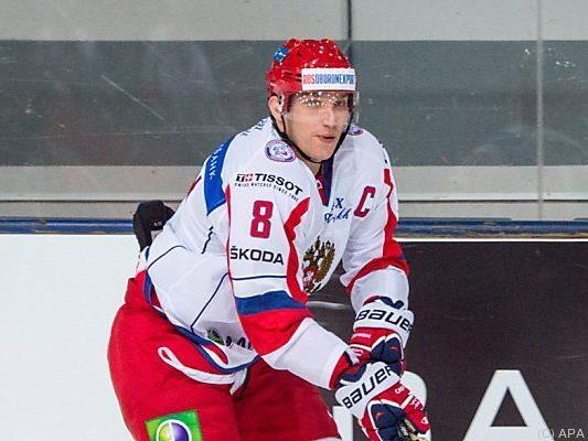 Russlands Superstar Alexander Owetschkin