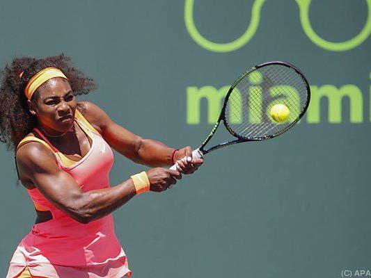 Serena Williams machte kurzen Prozess mit Navarro
