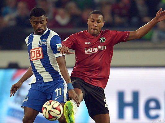 Hannover und Hertha trennten sich 1:1