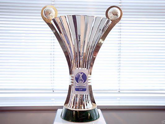 Vier Mannschaften kämpfen noch um den ÖFB-Cup-Pokal