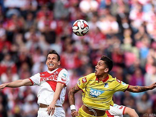 Harter Kampf zwischen Köln und Hoffenheim