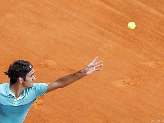 Roger Federer schlug Jeremy Chardy