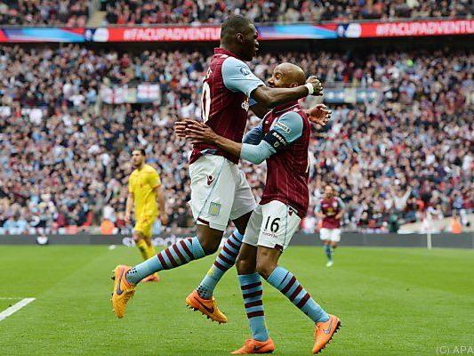 Benteke und Delph trafen für Aston Villa