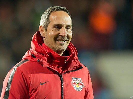 Salzburg-Coach Hütter ist optimistisch