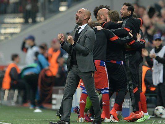 Bayern-Coach Guardiola trifft auf seinen alten Club