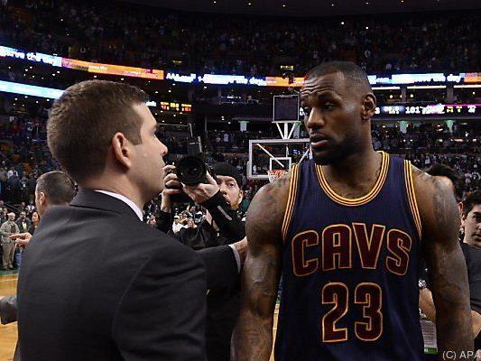 Die Cavaliers ließen Brad Stevens' Celtics keine Chance