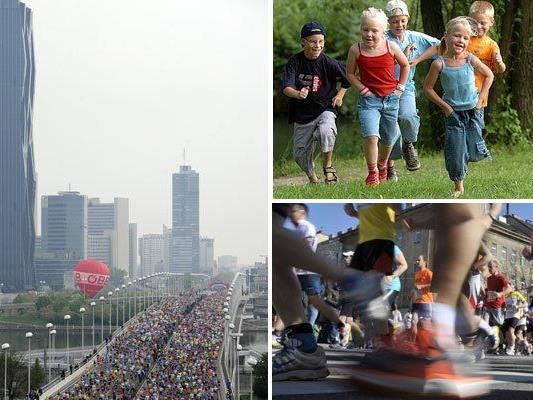 Events der Vielfalt - sportlich und international - im Rahmen des Vienna City Marathon 2015