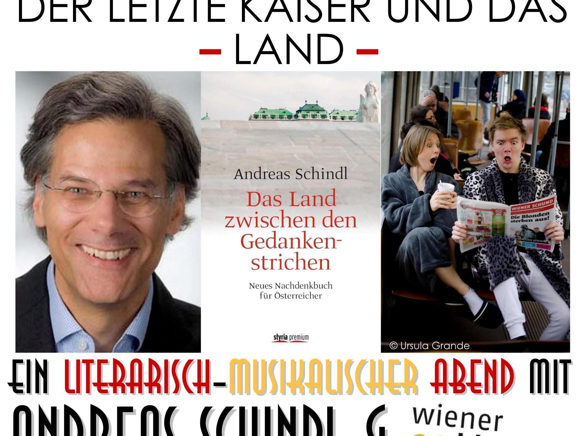 Flyer 13. Juni Andreas Schindl Wiener Blond