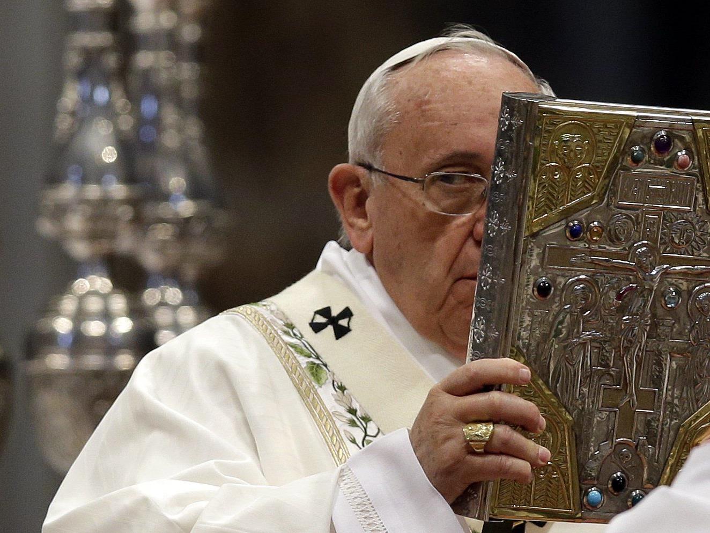 Der Papst feierte am Donnerstag mit 3000 Gläubigen die Chrisammesse.