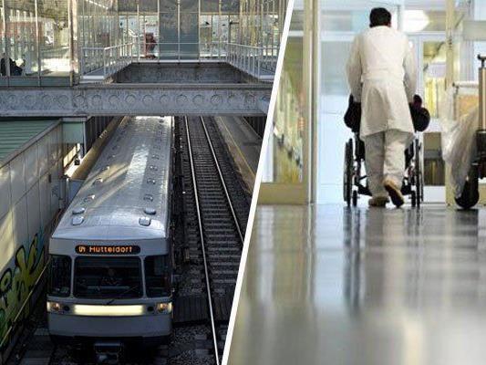 Flüchtender von U-Bahn erfasst - Lebensgefährliche Kopfverletzungen