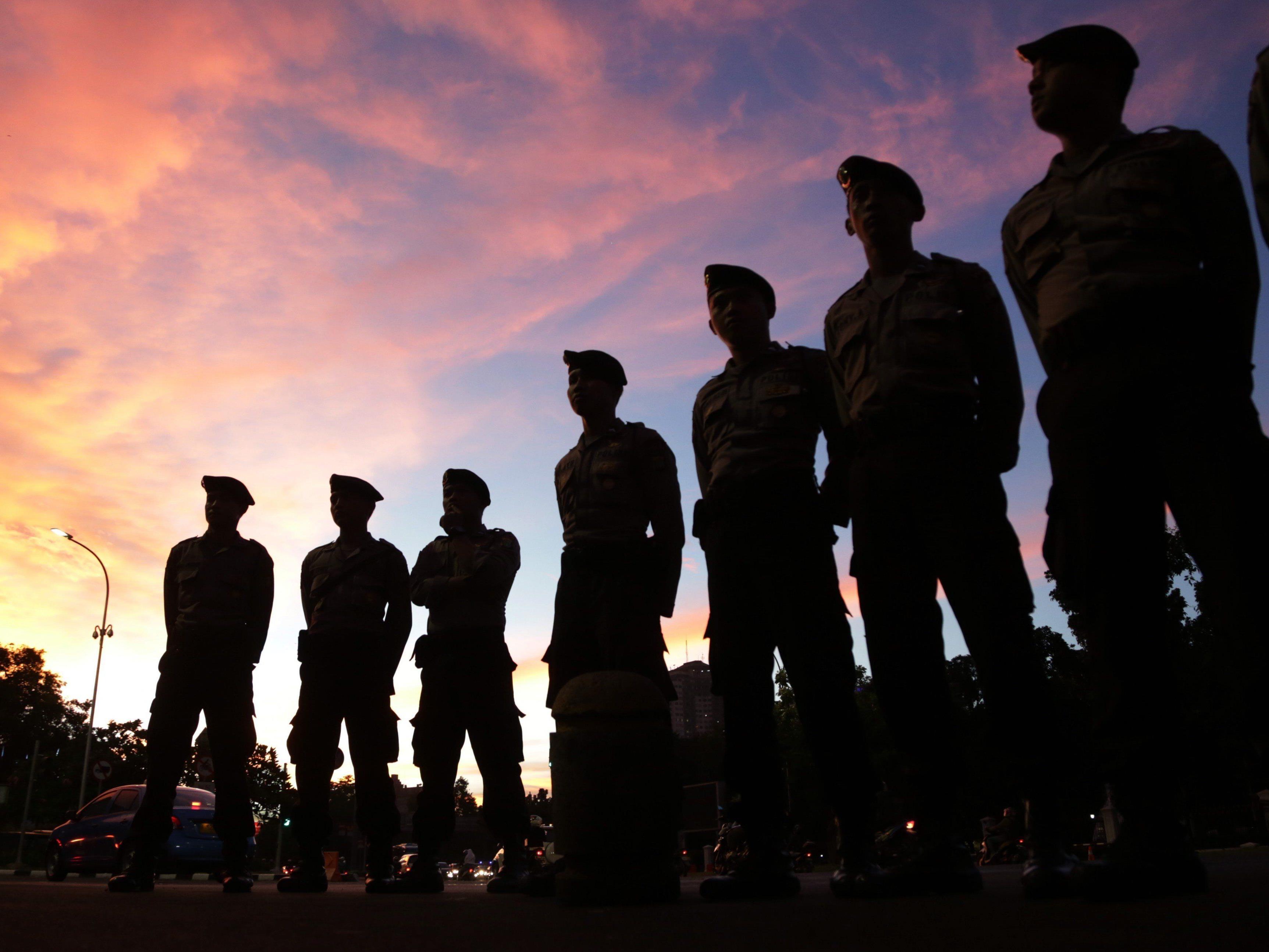 In Indonesien wurden Drogenschmuggler hingerichtet.
