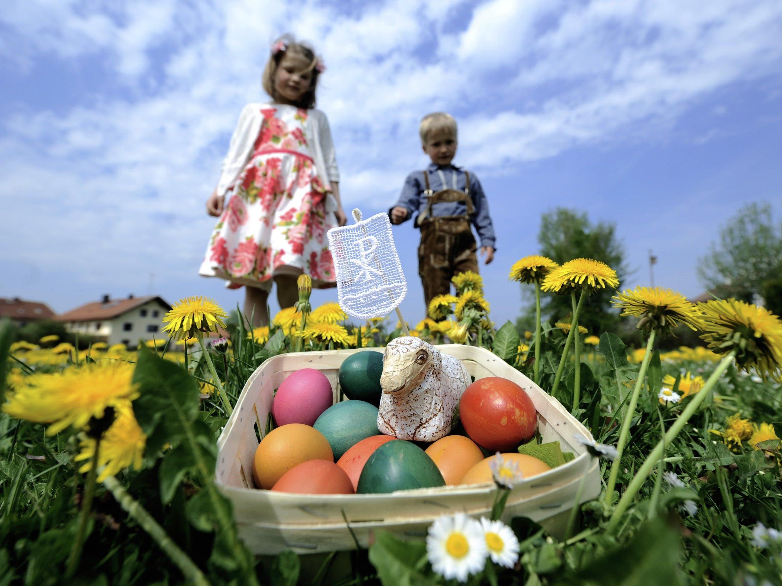 Aprilwetter zu Ostern: Kalt und wechselhaft