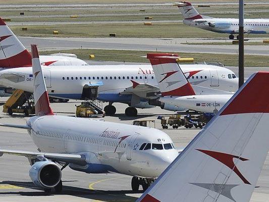 Am Flughafen Wien wurden um ein Prozent mehr Passagiere im März abgefertigt.