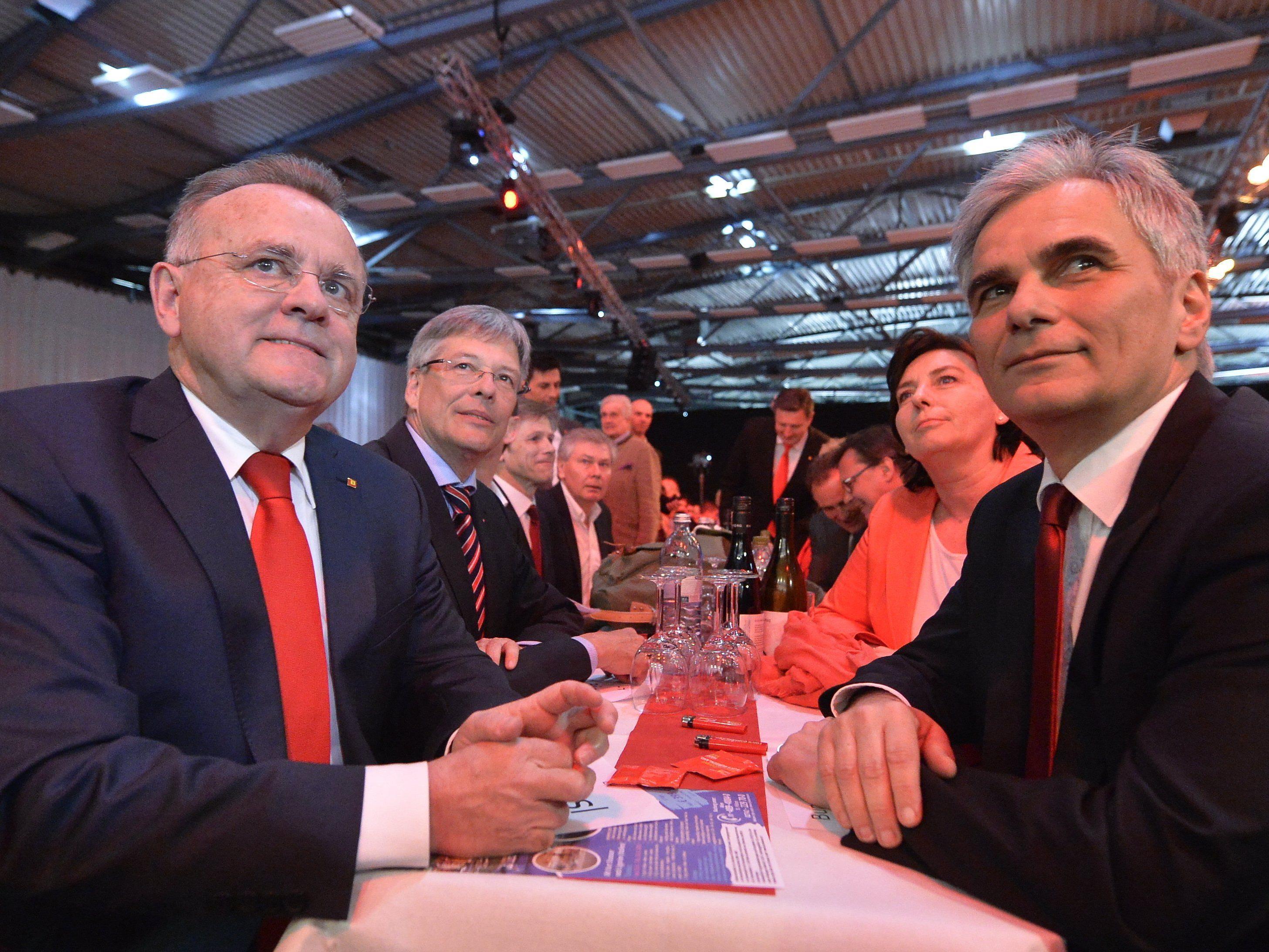 Die SPÖ Burgenland startete bereits in den Wahlkampf zur Landtagswahl.